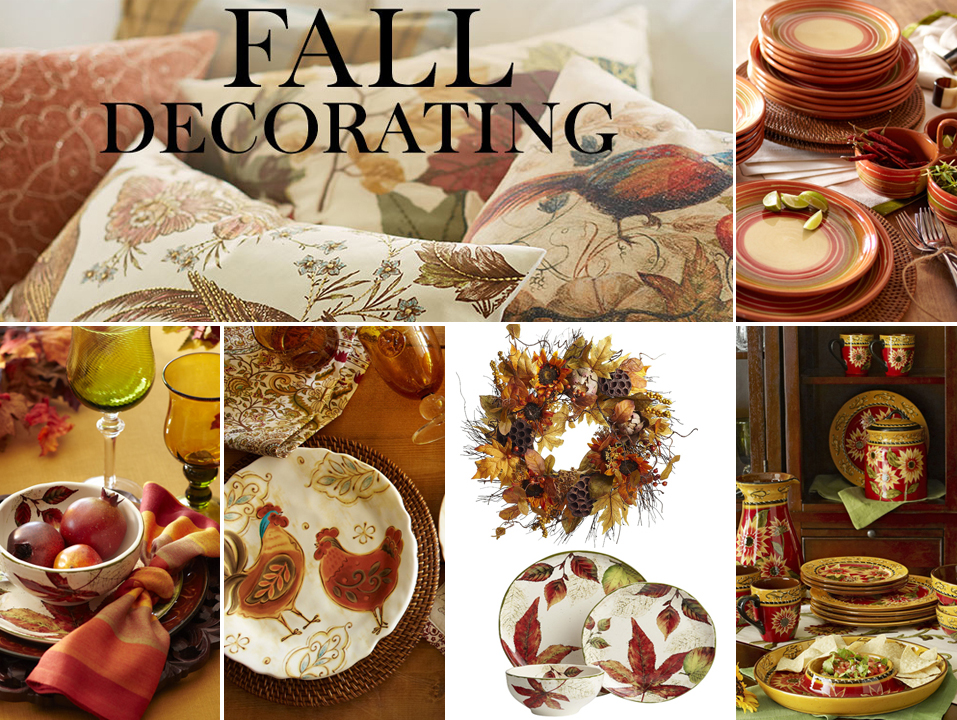 Pics photos fall decorating - Fall decorations for home ...