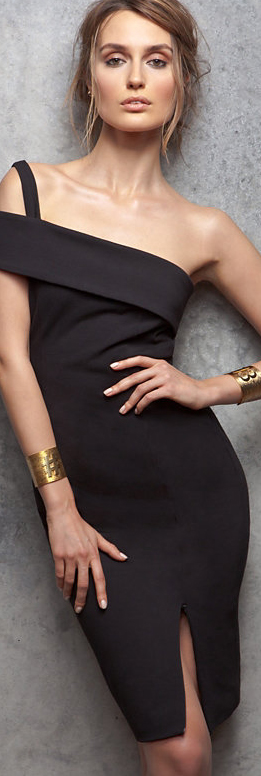 Nicholas Backless Ponte Wrap Dress