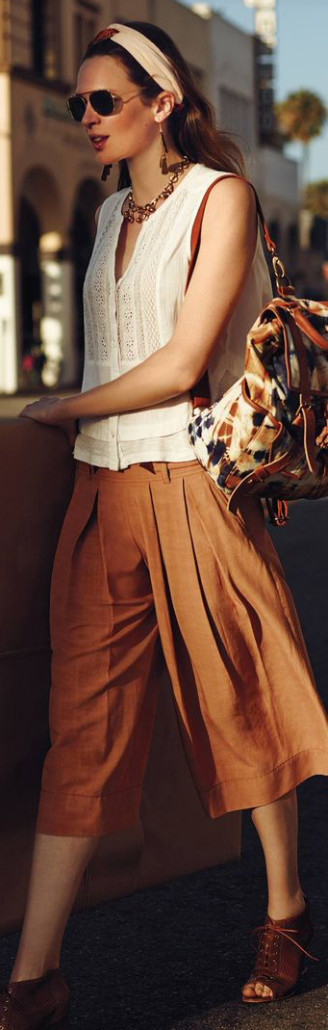 Anthropologie Kinney Culottes