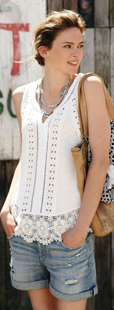 Anthropologie Ladder Tank