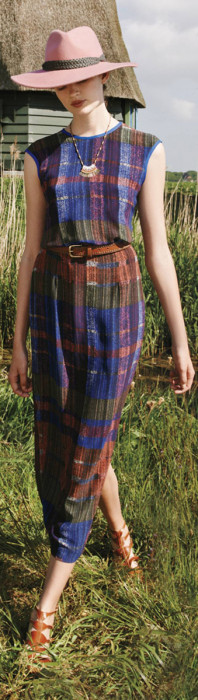 Anthropologie Andaz Maxi Dress