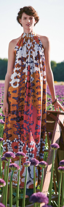 Anthropologie Lorna Silk Maxi Dress