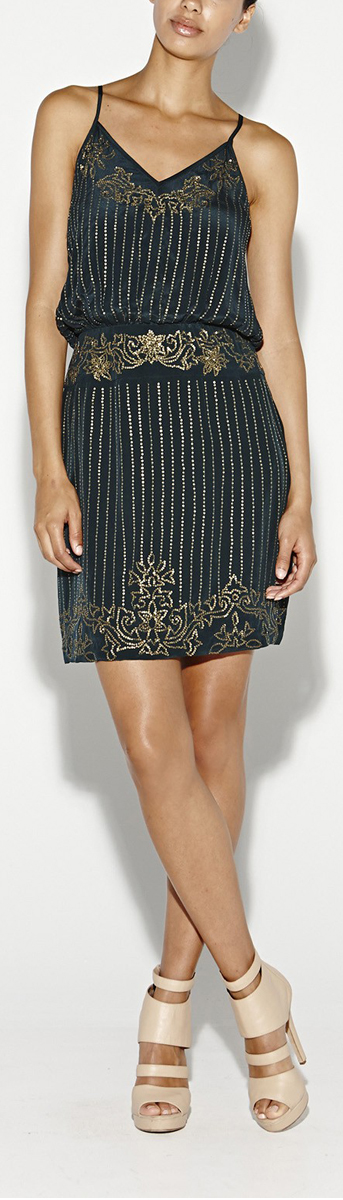 Nicole Miller Dresses: Flashback Sequin Dress