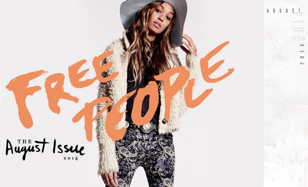 Free People August Issue