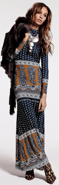 Free People Blackbird Maxi Dress