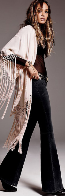 Free People Pull on Kick Flare