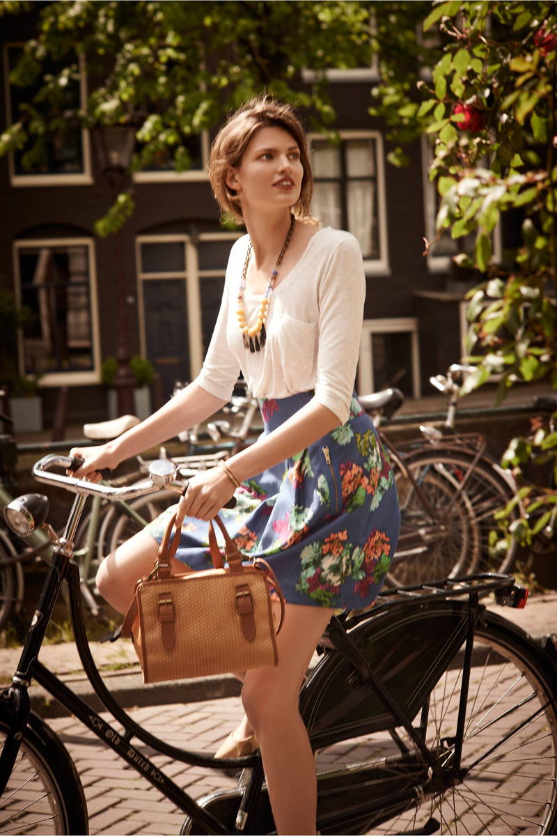 Anthropologie Garden Days Skirt
