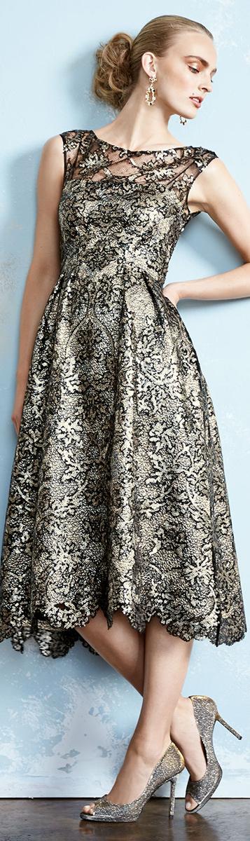 Kate Unger New York Tea Length Dress