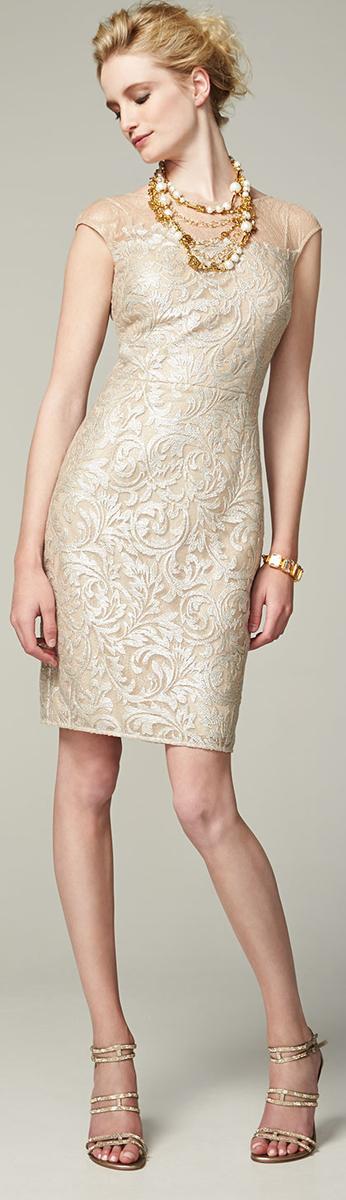 Kay Unger New York Sheath Dress