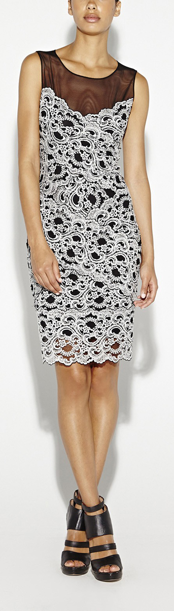 Amy Stretch Lace Dress