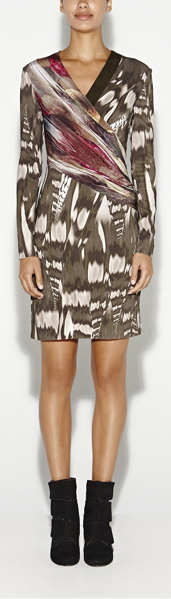 Thea Abstraction Dress