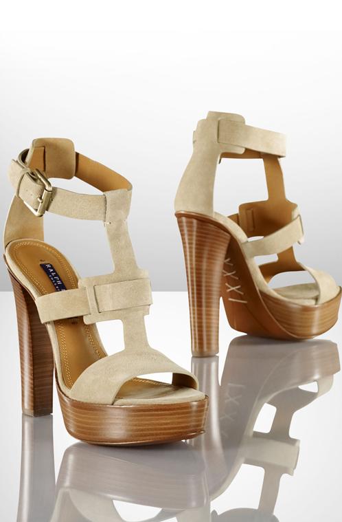 Suede Sherise Sandal