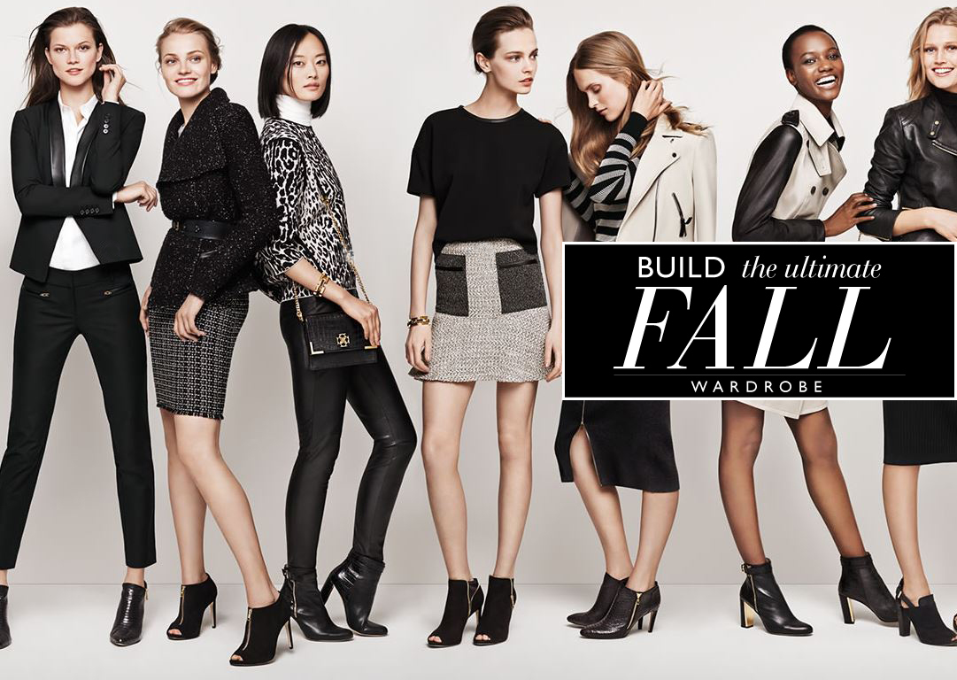 Ann Taylor Fall Wardrobe