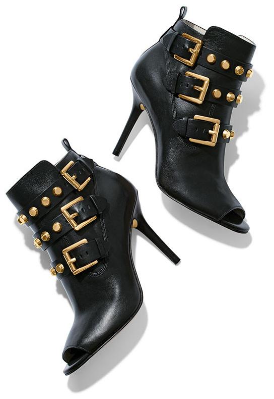 Bryn Open Toe Leather Boot