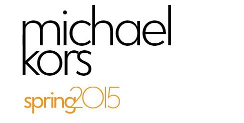 Michael Kors Spring 2015