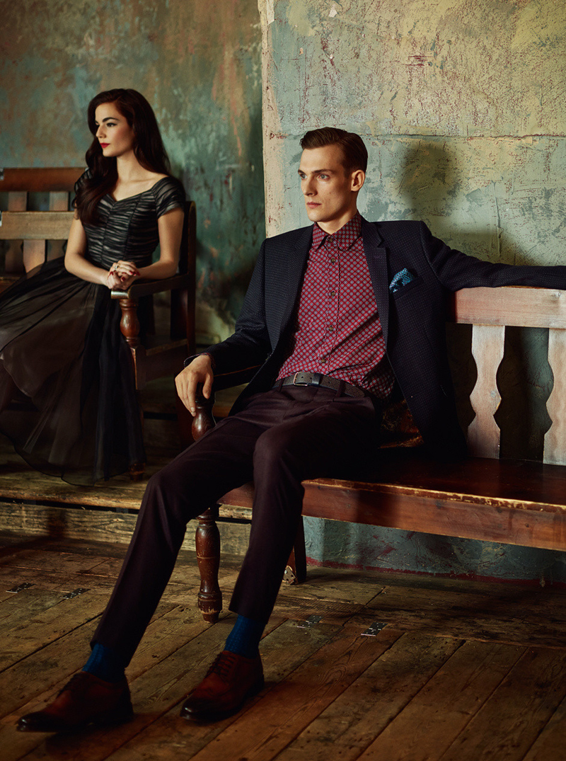 Ted Baker London Fall/Winter Lookbook