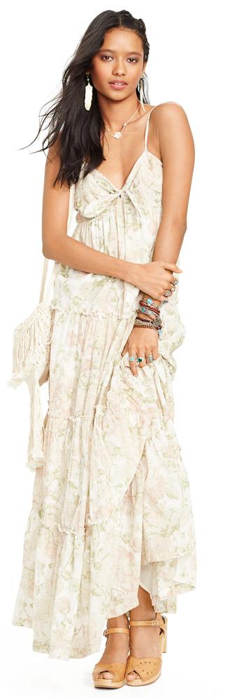 Denim & Supply Floral Maxi Dress