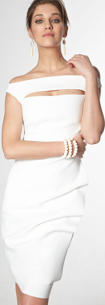 La Petite Robe Chiara Boni White Dress