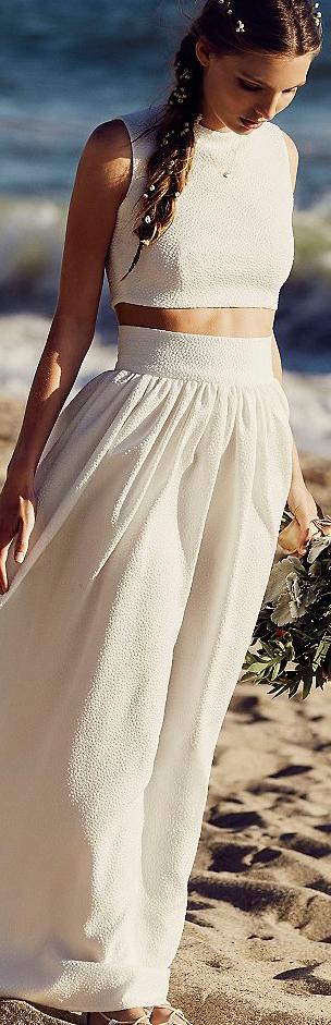 Free People Anna Bohemian Wedding Gown