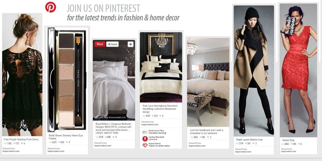 Buyer Select on Pinterest