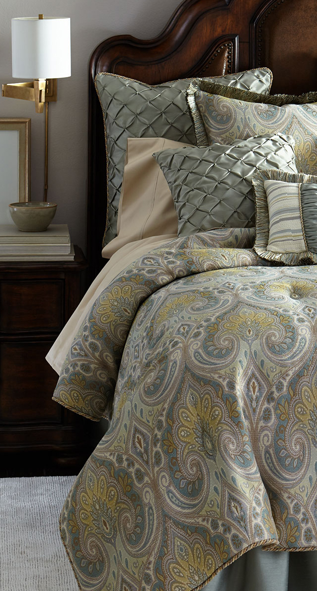 Luxury bedding collections meet the masters for Pacific home collection