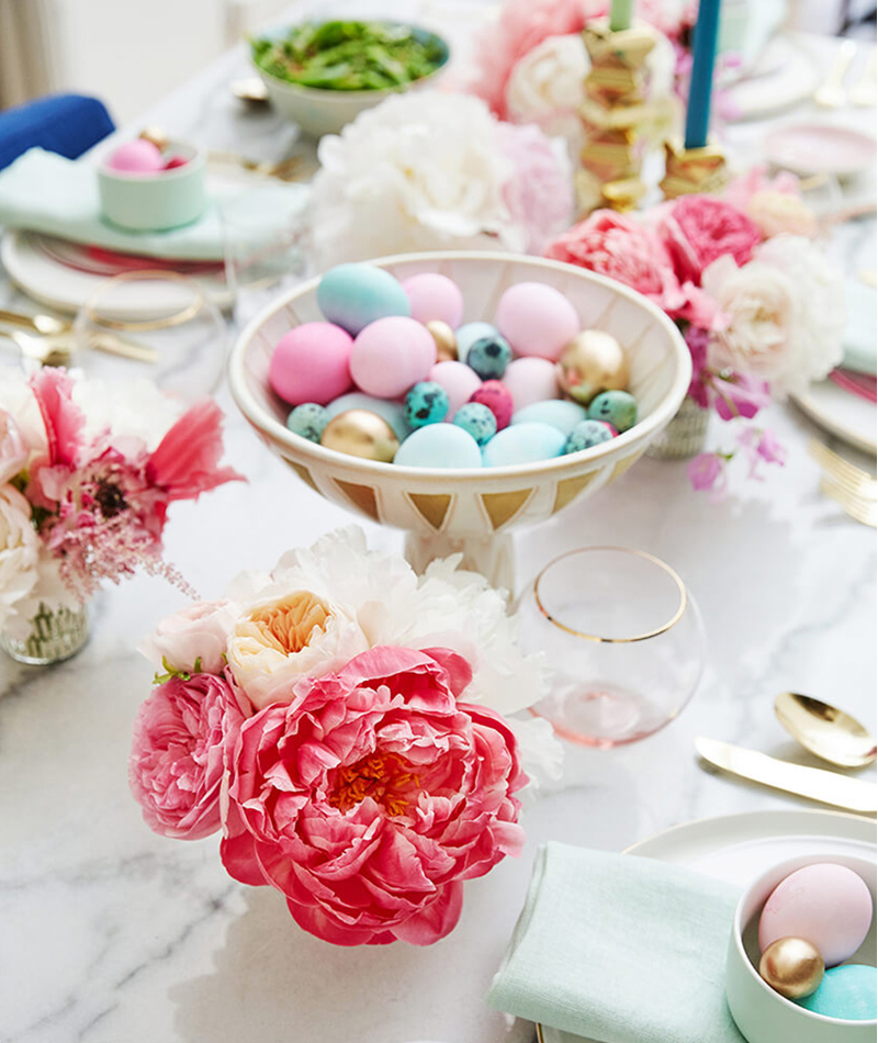 Easter Decorating Ideas Table Settings Centerpieces