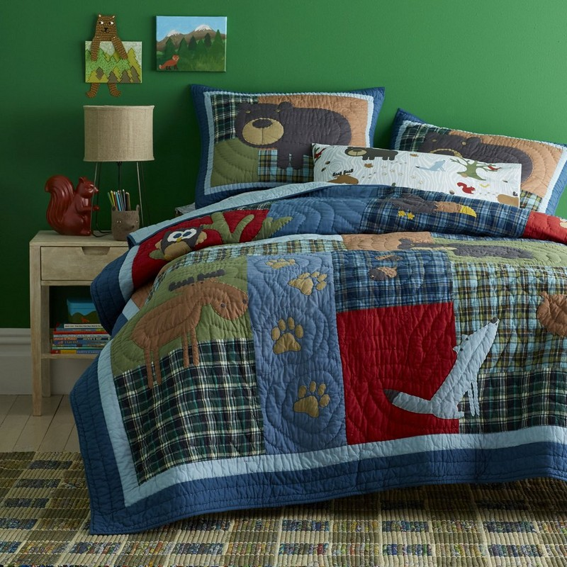 Camping Theme Bedroom
